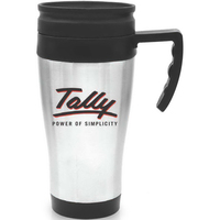 Steel City Travel Mug with Plastic Liner