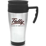Steel City Travel Mug with Plastic Liner