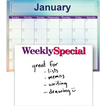 Write on Wipe Off Calendar or Sign