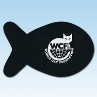 Fish Shaped RETREAD Recycled Tire Pet Mat