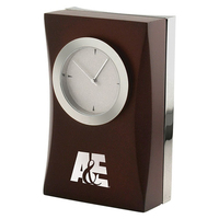 Executive Wood Clock