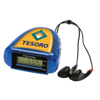 Pedometer with FM Scanner Radio