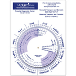Rectangle Pregnancy & Gestation Calculator Wheel