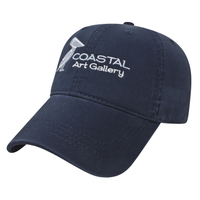 Relaxed Golf Cap with Velcro