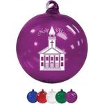 "3"" Hand Blown Glass Ornament"