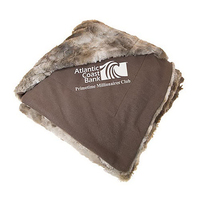 Coyote Faux Fur Blanket