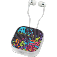 MyBuds (TM) B24 In-Ear Headphones with Carrying Case