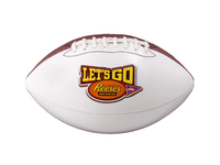 Official Size Autograph Football (4CP, Pad Print, Laser Eng)