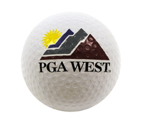 Inflated Golf Ball