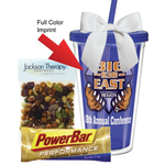 Full Color Tumbler with Power Snacks