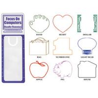 Reader's Pal Bookmark/Ruler/Magnifier