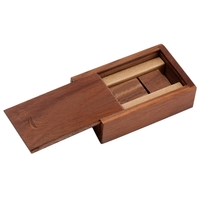 02-Wood Box with Magnetic: Dark Color