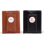 Easy View Leather Money Clip