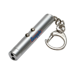 Laser Pointer and LED Light Keychain