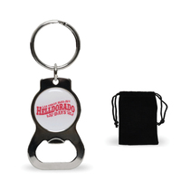 Rounded Key Chain Bottle Opener