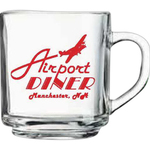 10 oz. Glass Handy Mug