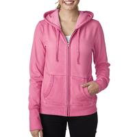 Ladies' Oasis Wash Full-Zip Hooded Fleece