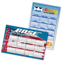 USA Large Rectangle Calendar Magnet