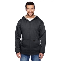 Dickies (R) Men's 450 Gram Sherpa-Lined Fleece Hooded Jacket