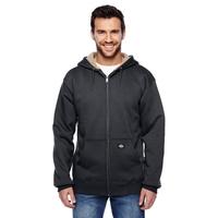 Dickies® Men's 450 Gram Sherpa-Lined Fleece Hooded Jacket