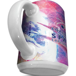 15 oz White Mighty Wrap Ceramic Mug