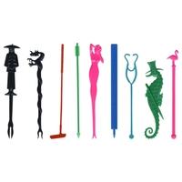 Fun Stirrers / Stir Sticks (9) - Non-Imprintable