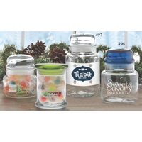Flair Apothecary Jar with Flat Lid