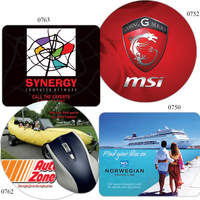 "Econo Mouse Pads with 1/16"" Neoprene Base"