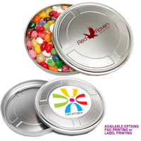 Movie Reel Tin Box Medium with Jelly Beans