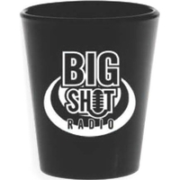 Black Shot Glass