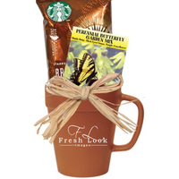 Garden Mug w/Coffee & Flower Seeds
