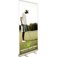 Economy Banner Retractable Stand -FREE SHIPPING