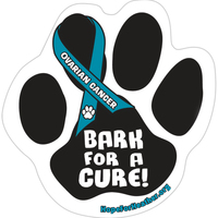 Car (Outdoor) Magnet - Paw Print - Full Color