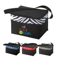 Designer 6 Can Cooler Bag