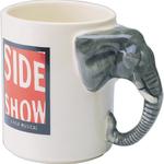 13 oz. Elephant Handle Mug