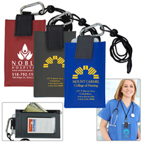 Cell Phone & ID Holder Wallet with Carabiner and Breakaway S