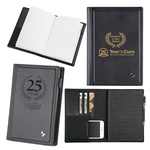 Stylish Black Genuine Leather Journal
