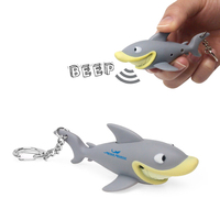Shark Animal LED Light Sound Keychain