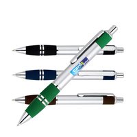 Satin Silver Ballpoint Pen