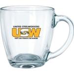 16 oz. Glass Bistro Mug