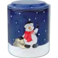 Jumbo Small Snowman Cookie Jar