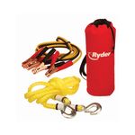 Booster Cable/Tow Rope Combo Kit