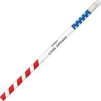 Patriotic Glitz Pencils