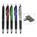 Diamond pattern grip stylus pen
