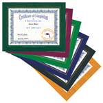 """Photo Frame - 8 1/2"""" x 11"""" Leatherette Picture Frame"""
