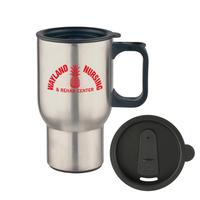Mug - 16oz Stainless Steel Travel Mug
