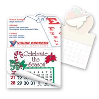 """Calendar Pad -2"""" x 3"""" Eyeglass Shape Stick'em Calendar Pad"""