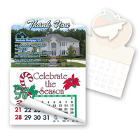 "Calendar Pad -2"" x 3"" Thank You Shape Stick'em Calendar Pad"