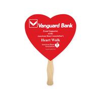 Fan - Heart Shape Hand Fan