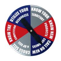 """Button - 3 1/2"""" Round Spinner Button"""